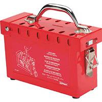 【CAINZ DASH】パンドウイット グループロックアウト用ボックス (1個=1箱)