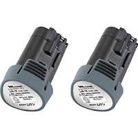 【CAINZ DASH】ムサシ 充電式 伸縮スリムバリカンJr バッテリー2個付