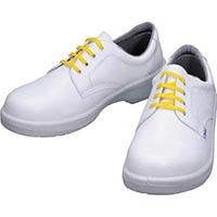 【CAINZ DASH】シモン 静電安全靴 短靴 7511白静電靴 23.5cm
