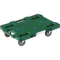 【CAINZ DASH】TRUSCO ルートバン 370X500 4輪自在 緑