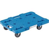 【CAINZ DASH】TRUSCO ルートバン 400X600 4輪自在 青