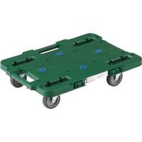 【CAINZ DASH】TRUSCO ルートバン 400X600 4輪自在 緑