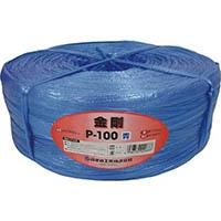 【CAINZ DASH】ツカサ 手結束用PP縄(ツカサテープ)P−100B 青