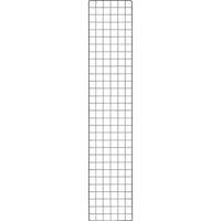 【CAINZ DASH】TRUSCO 棚用ディスプレイネット 金具付 300X1500 黒
