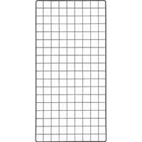 【CAINZ DASH】TRUSCO 棚用ディスプレイネット 金具付 450X900 黒