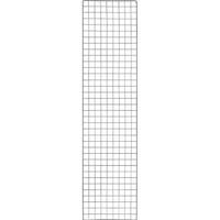 【CAINZ DASH】TRUSCO 棚用ディスプレイネット 金具付 450X1800 黒