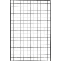 【CAINZ DASH】TRUSCO 棚用ディスプレイネット 金具付 600X900 黒