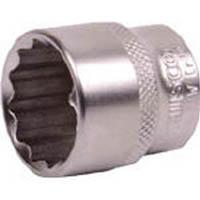 【CAINZ DASH】TRUSCO ソケット(12角) 差込角9.5 対辺8mm