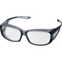 【CAINZ DASH】TRUSCO 二眼型セーフティグラス クリアブラックフレーム