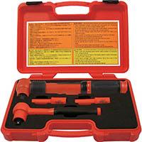 【CAINZ DASH】Tech−EV 絶縁工具セット ミニ 4点セット