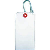 【CAINZ DASH】TRUSCO 針金付き荷札 120×60MM 20枚
