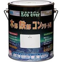 ニッペ 水性 Eco ever エコエバー シリコンアクリル塗料 0.7L 01ホワイト