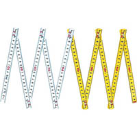 【CAINZ DASH】シンワ ファイバー折尺 10折2m cm表示
