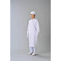 【CAINZ DASH】ADCLEAN クリーン実験衣 白 S