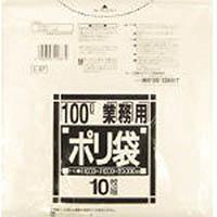 【CAINZ DASH】サニパック Lシリーズ100L透明 10枚