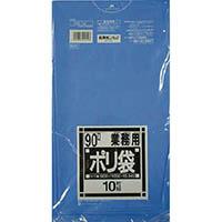 【CAINZ DASH】サニパック N−91Nシリーズ90L青 10枚