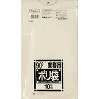 【CAINZ DASH】サニパック N−93Nシリーズ90L透明 10枚