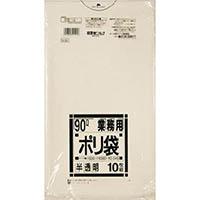 【CAINZ DASH】サニパック N−9490L白半透明 10枚
