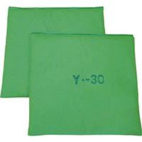 【CAINZ DASH】JOHNAN 油吸収材 アブラトール マット 30×30×2cm グリーン