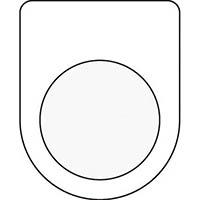 【CAINZ DASH】IM 押ボタン/セレクトスイッチ(メガネ銘板) 無地 φ22.5