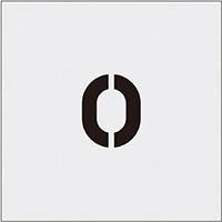 【CAINZ DASH】IM ステンシル 0 文字サイズ50×40mm