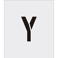 【CAINZ DASH】IM ステンシル Y 文字サイズ150×95mm