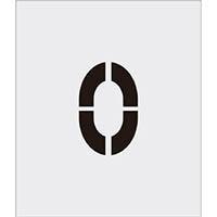 【CAINZ DASH】IM ステンシル 0 文字サイズ150×95mm
