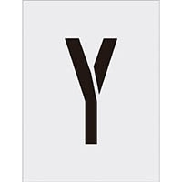 【CAINZ DASH】IM ステンシル Y 文字サイズ250×125mm