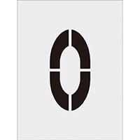 【CAINZ DASH】IM ステンシル 0 文字サイズ250×125mm