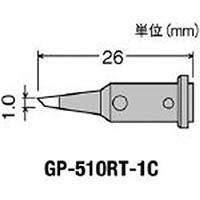 【CAINZ DASH】グット 替こて先1C型GP510用