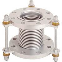 【CAINZ DASH】トーフレ フランジ無溶接型防振継手 10K SS400 65AX150L