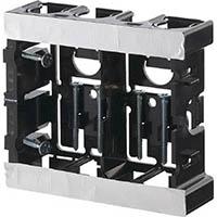 【CAINZ DASH】日動電工 配ボックス台付型(2個用)[B]