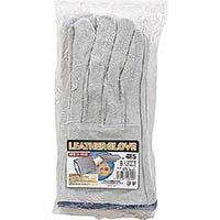 おたふく 牛床革内綿溶接5本指手袋 485