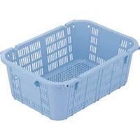 【CAINZ DASH】リス プラスケットNo.400本体 37L ブルー 金具なし 青
