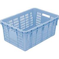 【CAINZ DASH】リス プラスケットNo.750−2本体 75L ブルー 金具なし 青