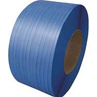【CAINZ DASH】積水 梱包機用PPバンド J−S1タイプ1巻梱包 15.5×2500m ブルー
