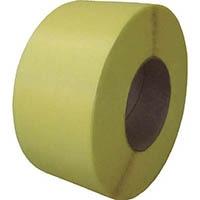 【CAINZ DASH】積水 梱包機用PPバンド J−S1タイプ1巻梱包15.5×2500m イエロー