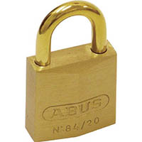 【CAINZ DASH】ABUS 真鍮南京錠 84MB−20 同番
