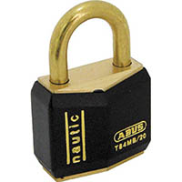 【CAINZ DASH】ABUS 真鍮南京錠 T84MB−20 バラ番