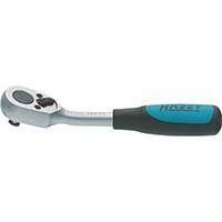 【CAINZ DASH】HAZET ラチェットハンドル(小判型ヘッド・ベントタイプ) 差込角6.35mm