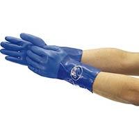 【CAINZ DASH】ショーワ まとめ買い 簡易包装耐油ロングビニローブ Lサイズ 1Pk(袋)10双