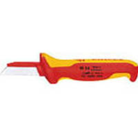 【CAINZ DASH】KNIPEX 絶縁電工ナイフ 180mm