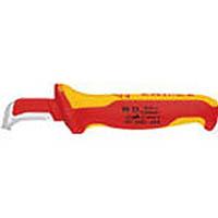 【CAINZ DASH】KNIPEX 絶縁電工ナイフ 155mm