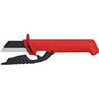 【CAINZ DASH】KNIPEX 絶縁電工ナイフ 185mm