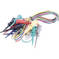 【CAINZ DASH】テイシン ICテストリード 50cm マイクロICクリップS両端付(7本入)