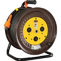 【CAINZ DASH】日動 電工ドラム 三相200Vドラム アース付 30m