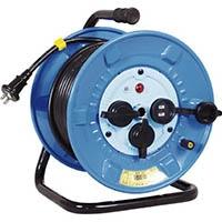 【CAINZ DASH】日動 電工ドラム 防雨防塵型100Vドラム 2芯 30m
