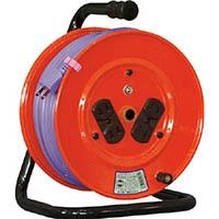 【CAINZ DASH】日動 電工ドラム 標準型100Vドラム 2芯 30m ソフト電線