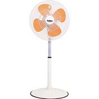 【CAINZ PRO】スイデン 工場扇(大型扇風機)スタンド1本脚型樹脂ハネ45cm単相100V SF45VF1VP
