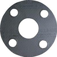 【CAINZ DASH】クリンガー 膨張黒鉛ガスケット(ステンレス爪付鋼板入り) 5枚入り
